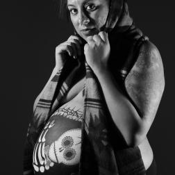Maternity Photoshoot by Natalia Faulkner - Dia De Los Muertos
