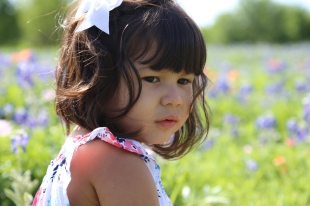 Texas Bluebonnets Frisco Portrait Photography by Natalia Faulkner